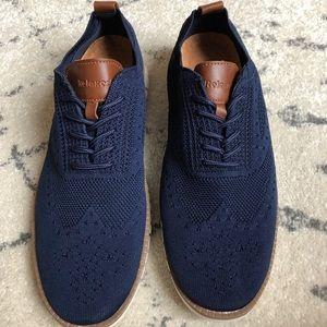 Men's mesh wing tip oxford casual shoe